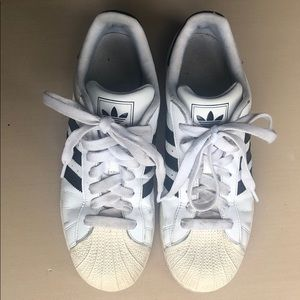 Adidas Superstar men sz US9 White/Black Nice!